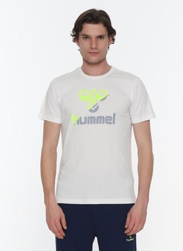 Hummel Erkek Browst Tişört 911020-9003 Beyaz